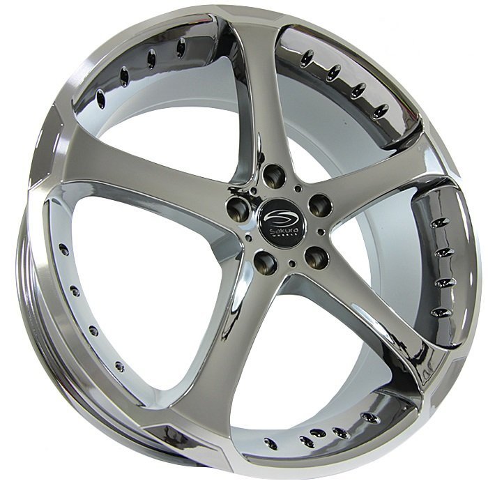 Легковой диск Sakura Wheels R519 8x20 5x114,3 ET35 73,1 B-LP/M5